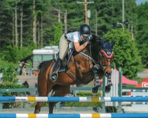 Gracie - Joanna - Horse and Rider from Claivaux Hunter Jumper Stables