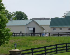 View of Clairvaux Horse Boarding Stables