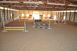 Indoor Arena in Northern VA, with Jumps and Heated Seating Area