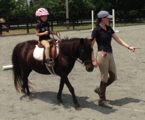 Kate Evelyn at Summer Horseback Riding Camp
